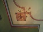 Detail Work on Ceiling in Music Room