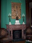Fireplace in Vaile Mansion