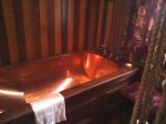 Copper Bathtub inside Vaile Mansion